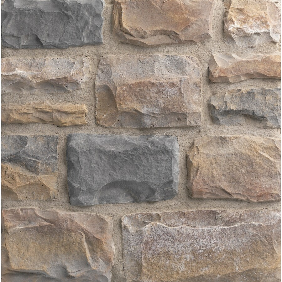 Ply Gem Stone Cut Cobblestone 10-sq ft Winfield Faux Stone Veneer