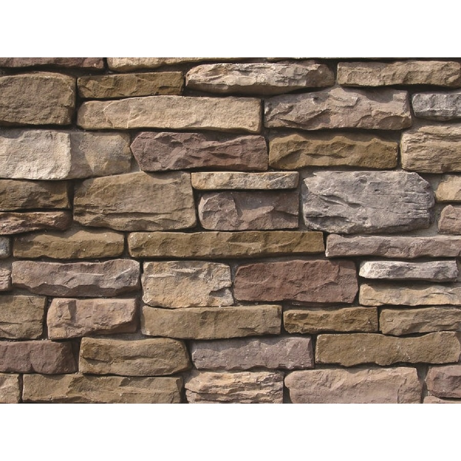 Ply Gem Stone Shadow Ledgestone 10-sq ft Buckingham Faux Stone Veneer