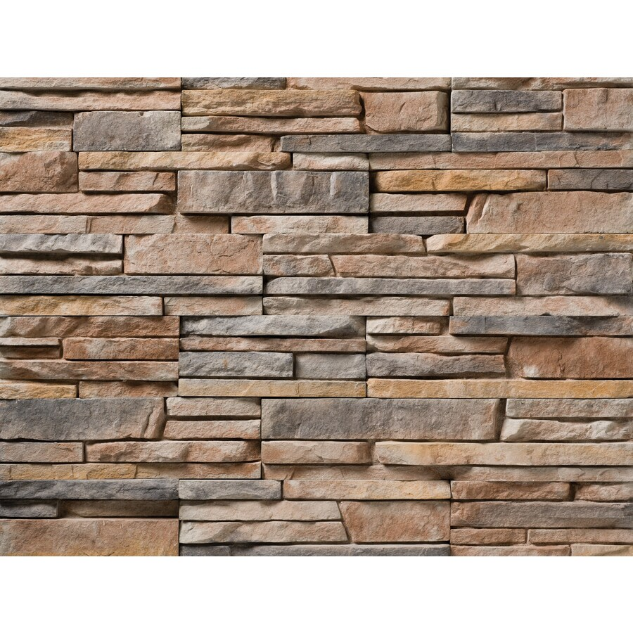 Ply Gem Stone True Stack 10-sq ft Flint Faux Stone Veneer