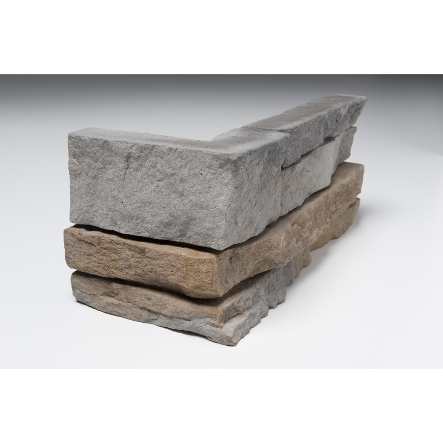 Ply Gem Stone True Stack Flint Molded Corner Stone Veneer Trim