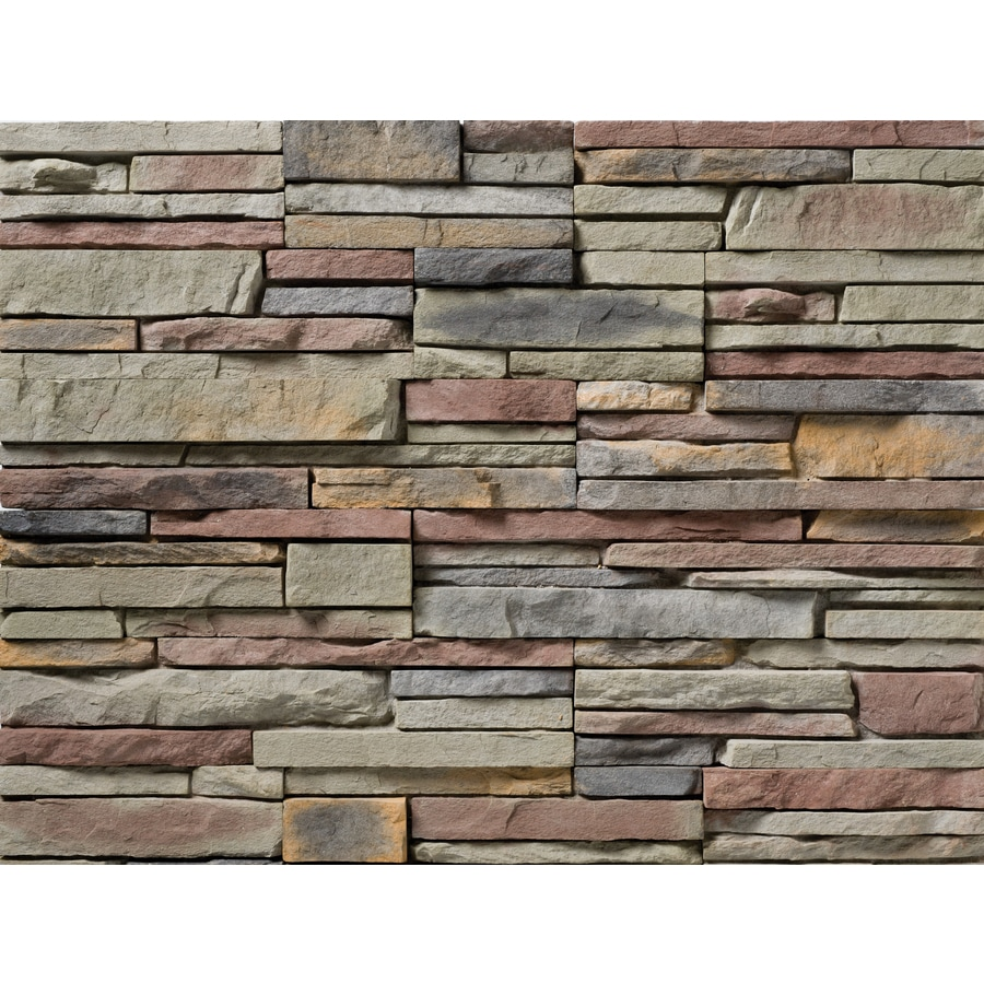 Ply Gem Stone True Stack 10-sq ft Sonoma Faux Stone Veneer