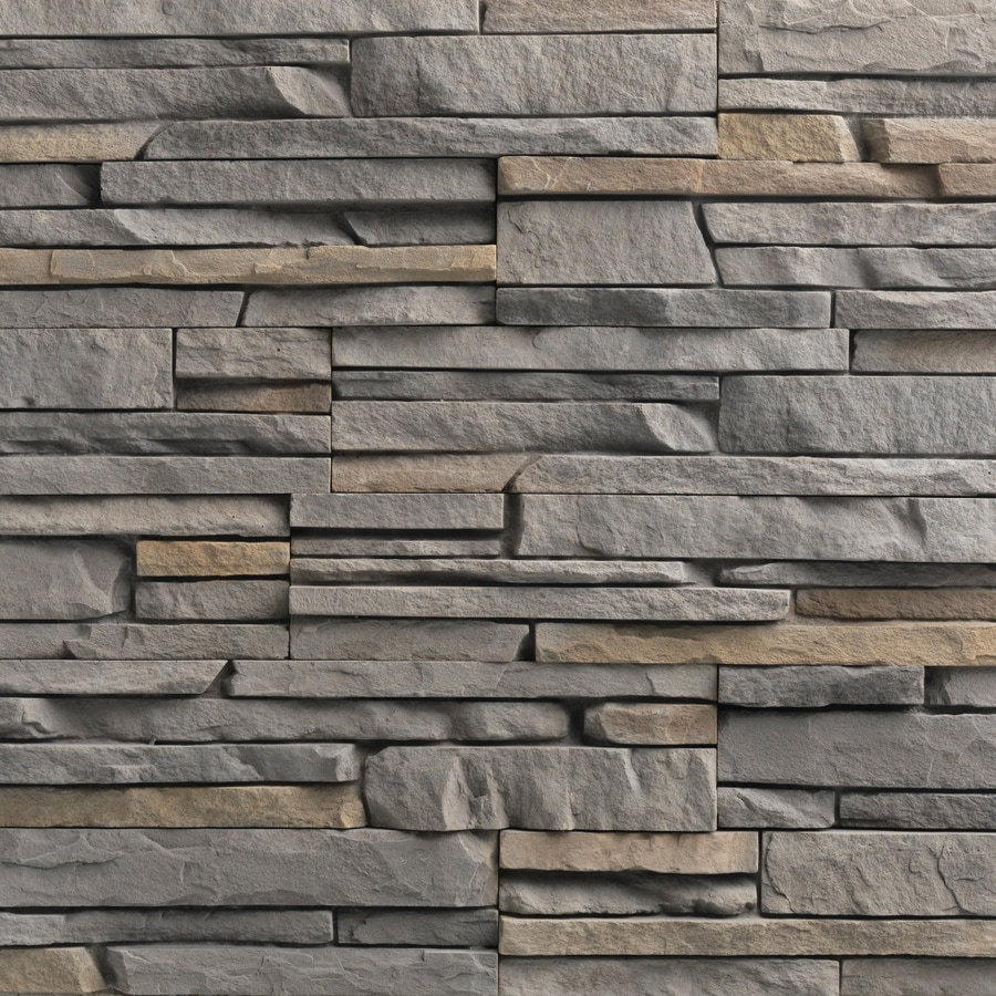 Ply Gem Stone True Stack 10-sq ft Tuscarora Faux Stone Veneer