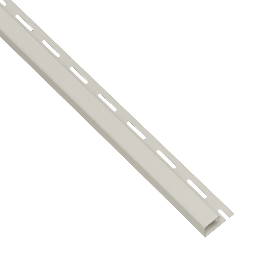 Georgia-Pacific Vinyl Siding Trim J-Channel Mist 0.625-in x 150-in