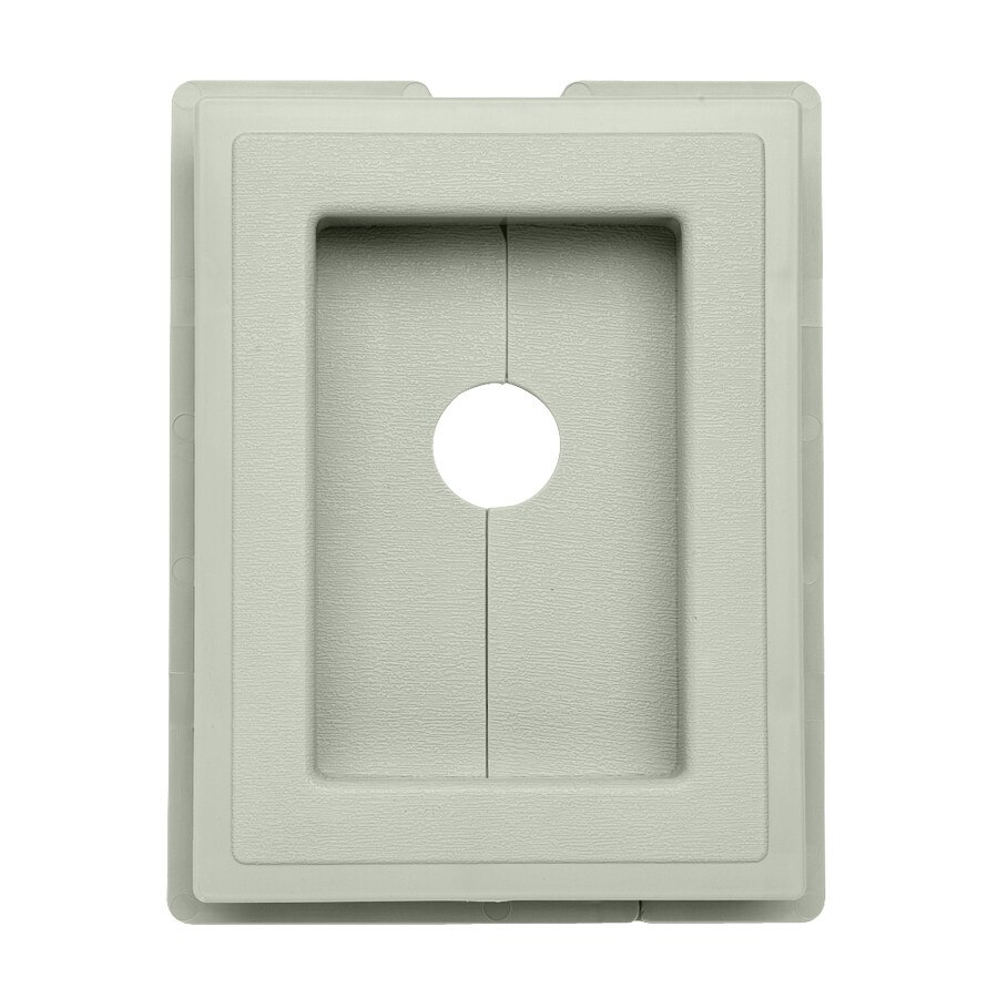 Georgia-Pacific 7.5-in x 1-in Vinyl Mounting Block