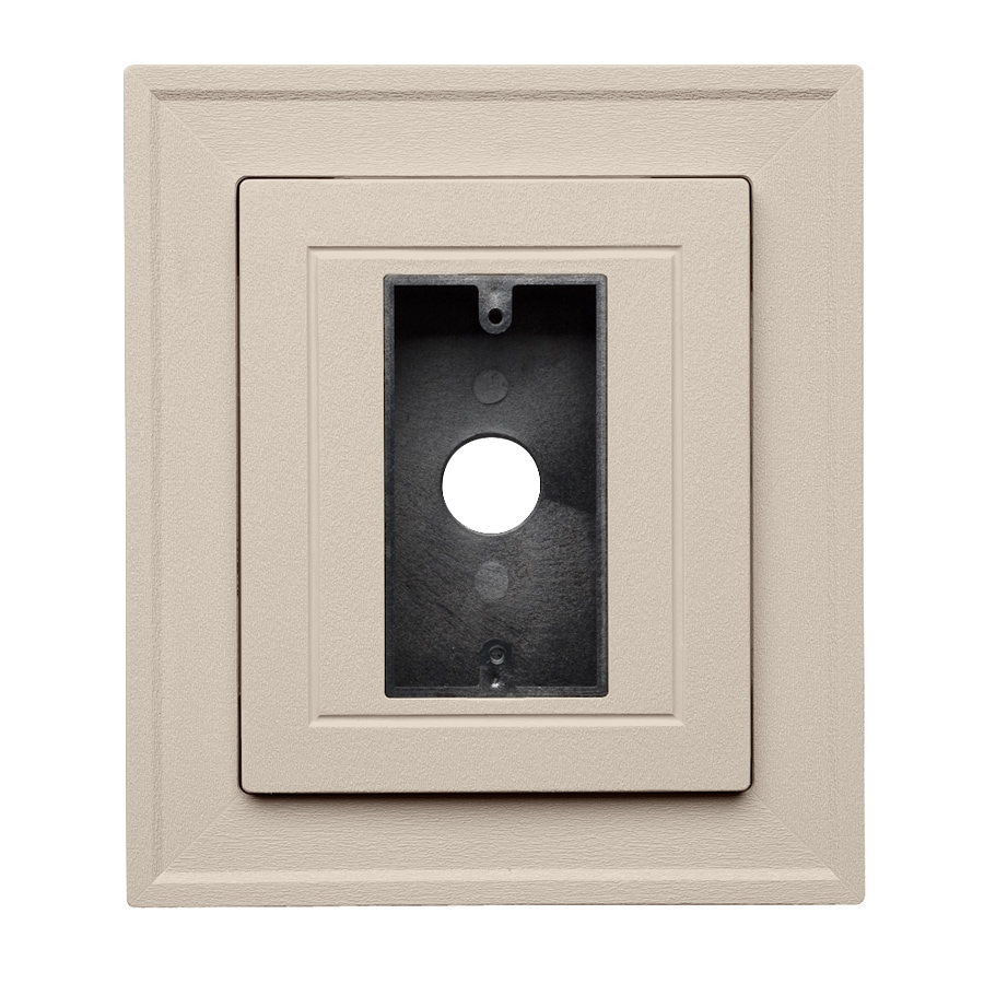 Georgia-Pacific 8.5-in x 7.5-in Vinyl Mounting Block