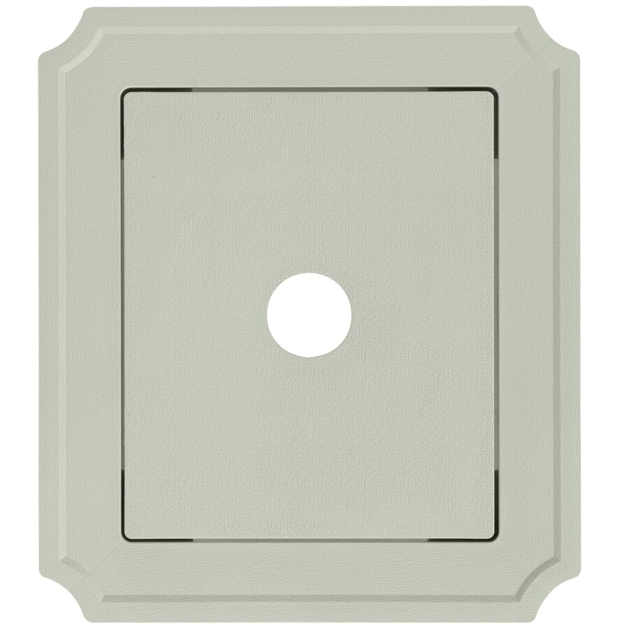 Georgia-Pacific 8.54-in x 7.52-in Vinyl Mounting Block