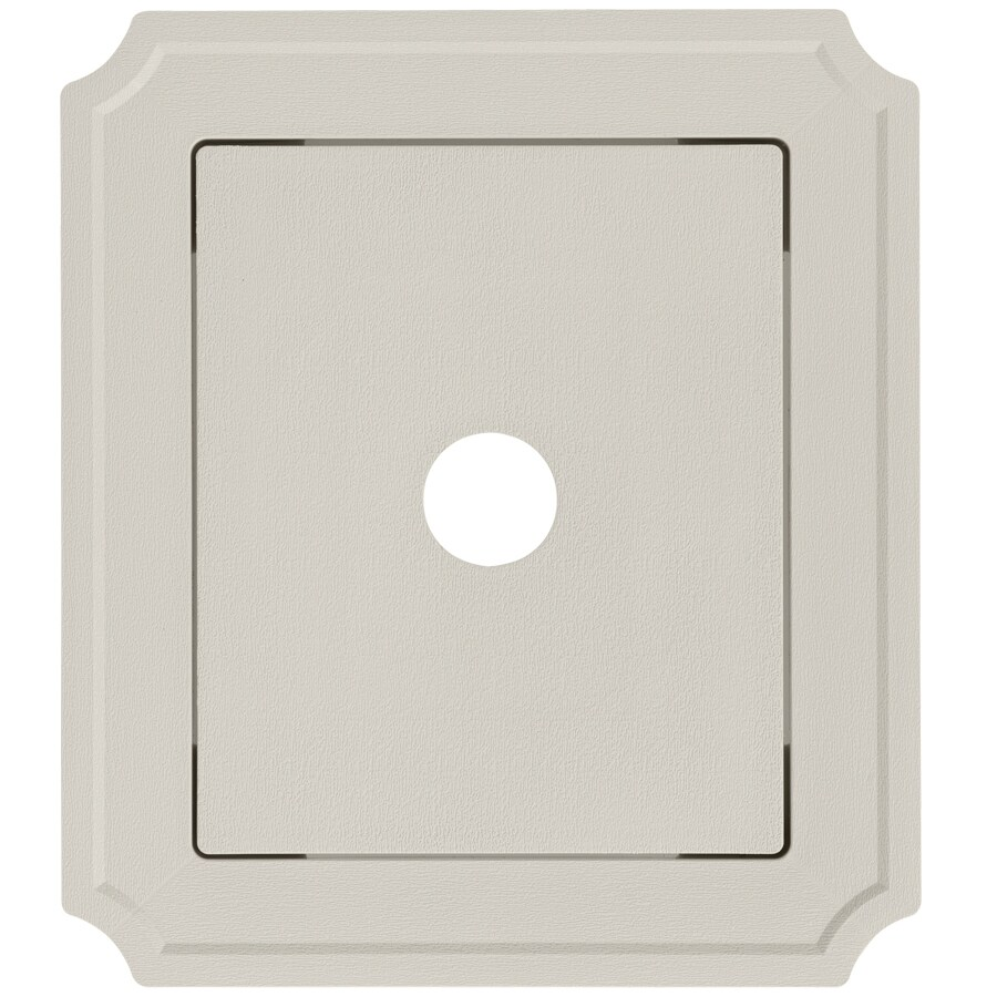 Georgia-Pacific 8.54-in x 7.52-in Vinyl Mounting Block