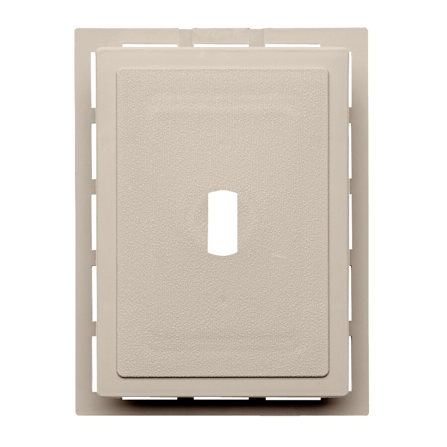 Georgia-Pacific 6-in x 0.875-in Vinyl Mounting Block