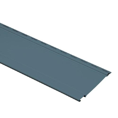 Georgia Pacific Vinyl Siding Panel Board And Batten Bayou Blue 7 In X 120 In At Lowes Com