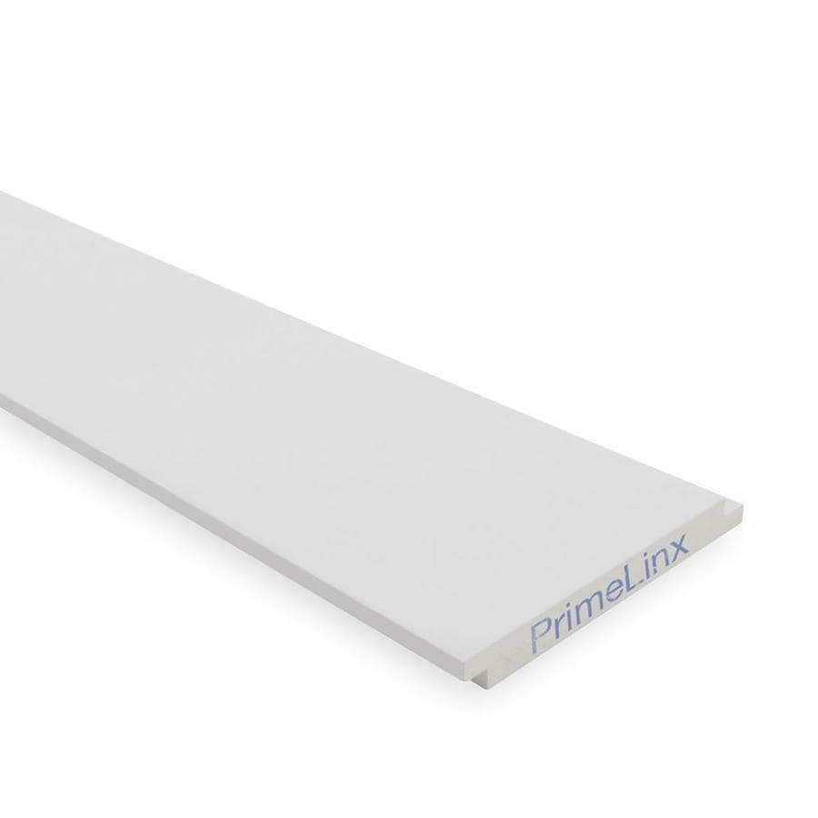 Shop Primelinx Shadow Gap Shiplap 5 375 In X 12 Ft White