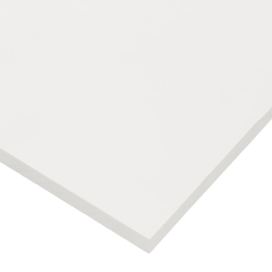 ProLine (Actual: 0.5-in x 24-in x 4-ft) Plus PVC Board