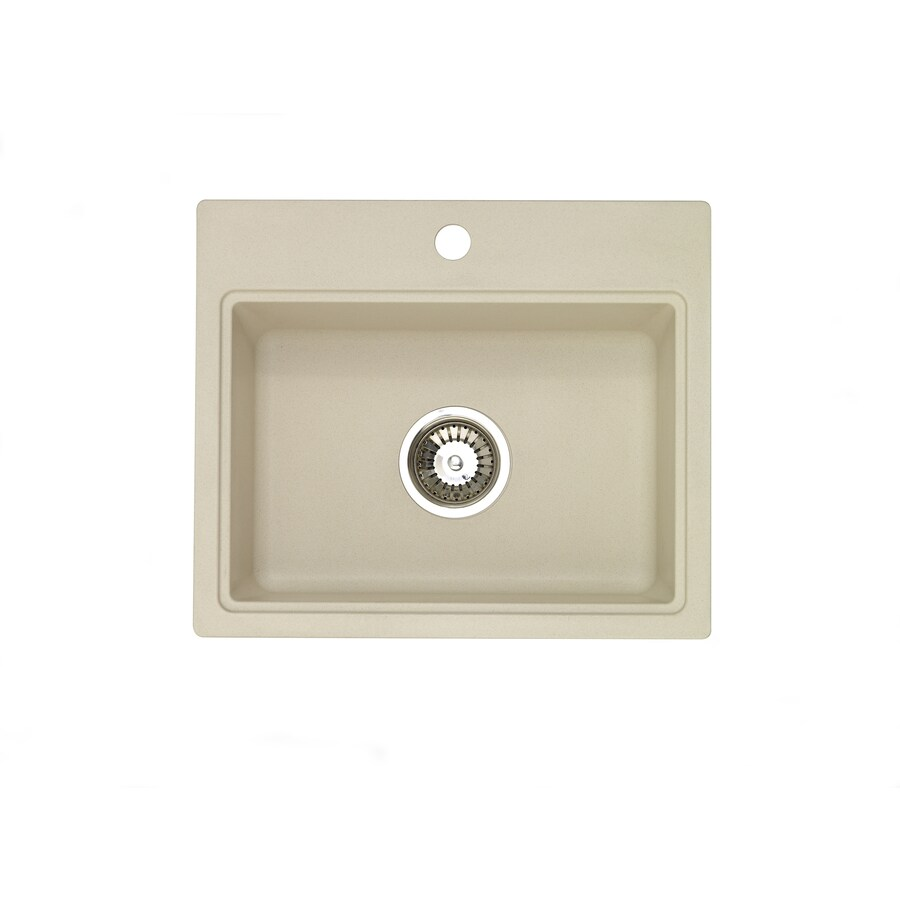 Jacuzzi Sahara Beige Granite Drop-in or Undermount Sink