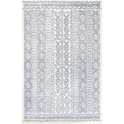 Nuloom Ivory Indoor Handcrafted Area