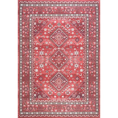 Nuloom Red Indoor Area Rug Common 7 X
