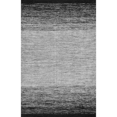 Nuloom Black And White Indoor Area Rug