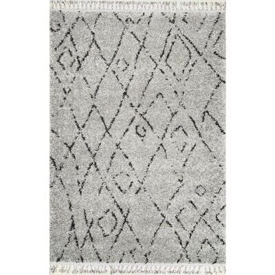 NuLOOM Grey Indoor Moroccan Area Rug