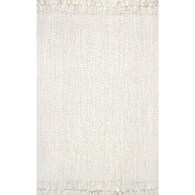 nuLOOM 2 x 3 Ivory Indoor/Outdoor Solid Area Rug Deals