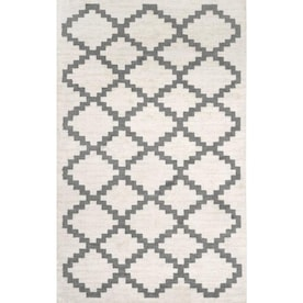 Nuloom Camila 5 X 8 Off White Indoor Trellis Area Rug In The Rugs Department At Lowes Com
