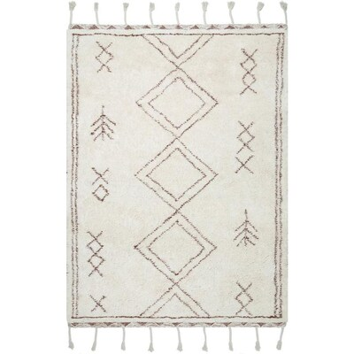 NuLOOM Beige Indoor Handcrafted