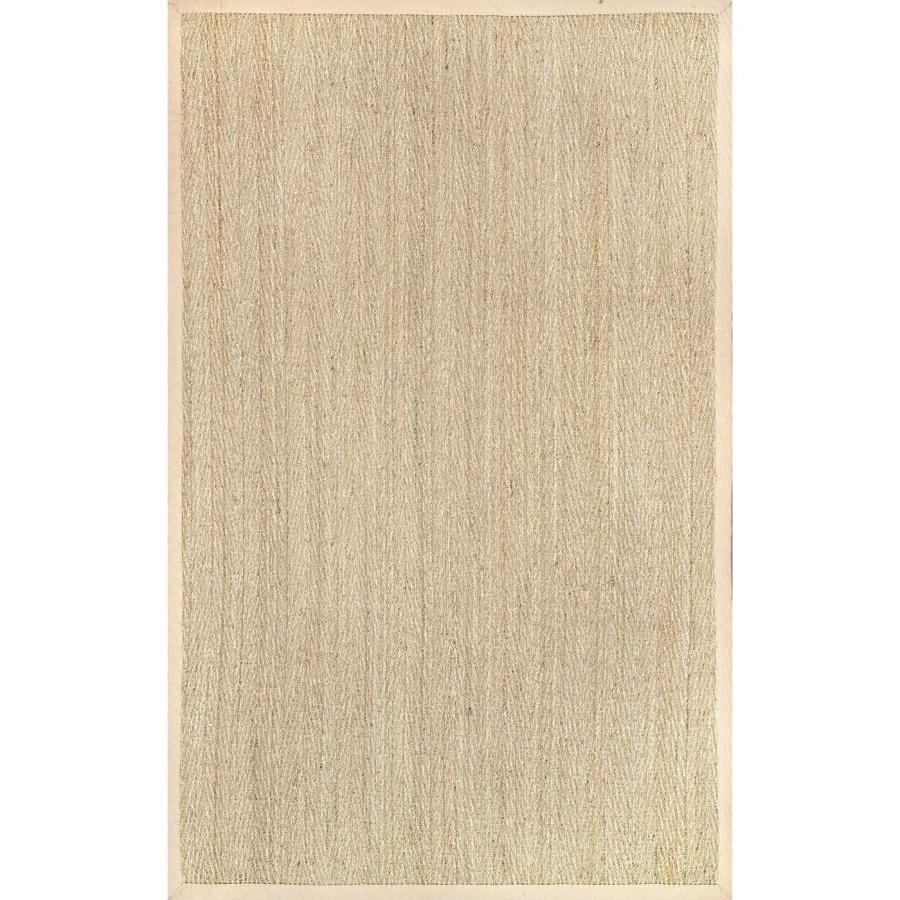 Nuloom 8 X 10 Natural Indoor Outdoor Border Coastal Area Rug In The Rugs Department At Lowes Com