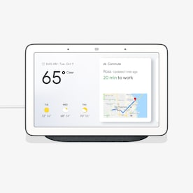 Google Nest Home Hub Hub Charcoal