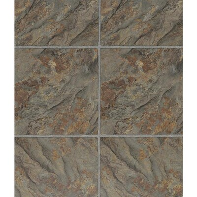 Wellmade Luxury Vinyl Tile 5 Piece 12