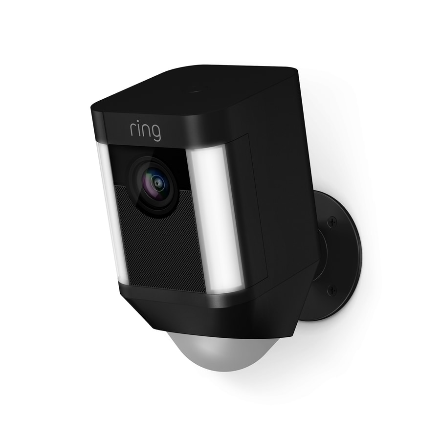 Shop Ring Spotlight Cam Battery Digital Wireless Outdoor Security Camera With Night Vision At
