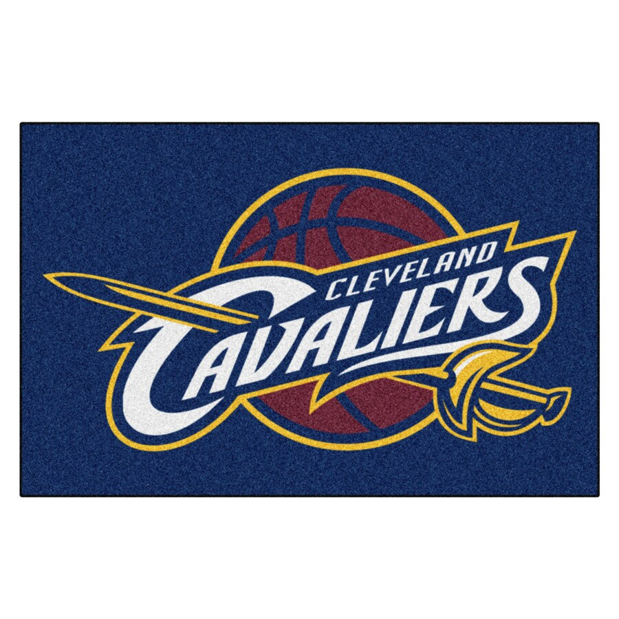 FANMATS Cleveland Cavaliers Team Color Rectangular Indoor Tufted Sports Throw Rug (Common: 1-1/2 x 2-1/2; Actual: 19-in W x 30-in L x 0-ft Dia)