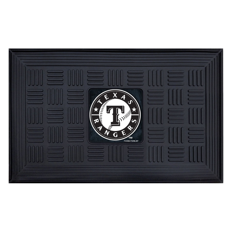 FANMATS Oklahoma City Thunder Rectangular Indoor Tufted Sports Throw Rug (Common: 1-1/2 x 2-1/2; Actual: 1.583-ft W x 2.5-ft L x dia)