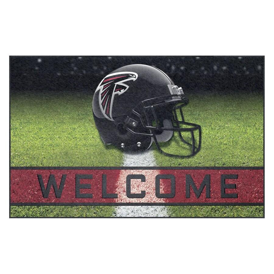 FANMATS Multicolor Atlanta Falcons Rectangular Door Mat (Common: 18-in x 30-in; Actual: 18-in x 30-in)