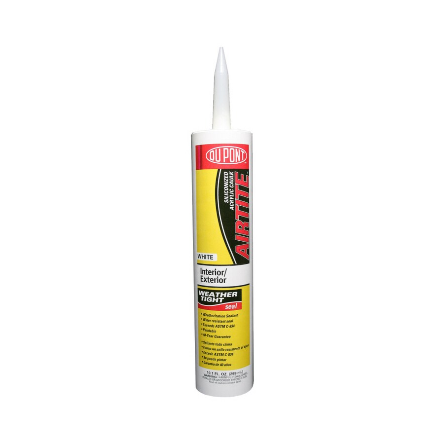 DuPont 10.1-oz White Paintable Latex Window and Door Caulk