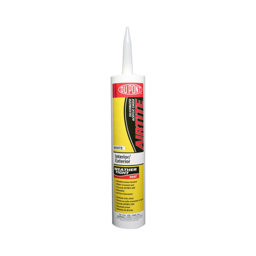 DuPont 10.1-oz Clear Paintable Latex Window and Door Caulk