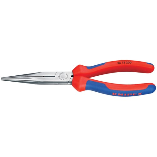 """8/"""" Vanadium Steel Long Nose Plier W//Nonslip Grip Handle Craftsman Wire Cutting"""