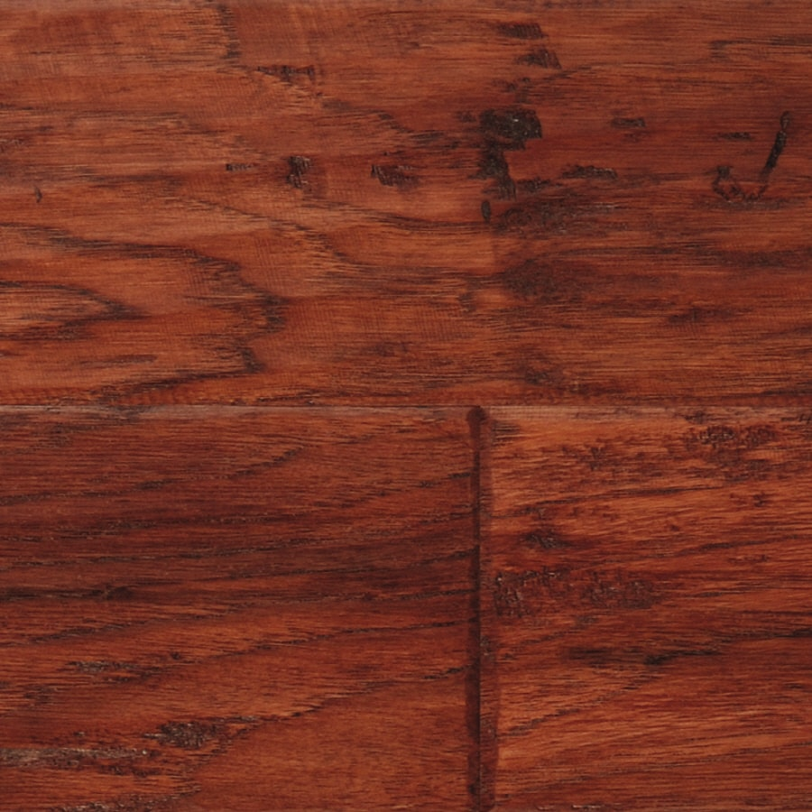 LM Flooring Cabin Creek 4.92-in W Prefinished Hickory Engineered Hardwood Flooring (Colonial)