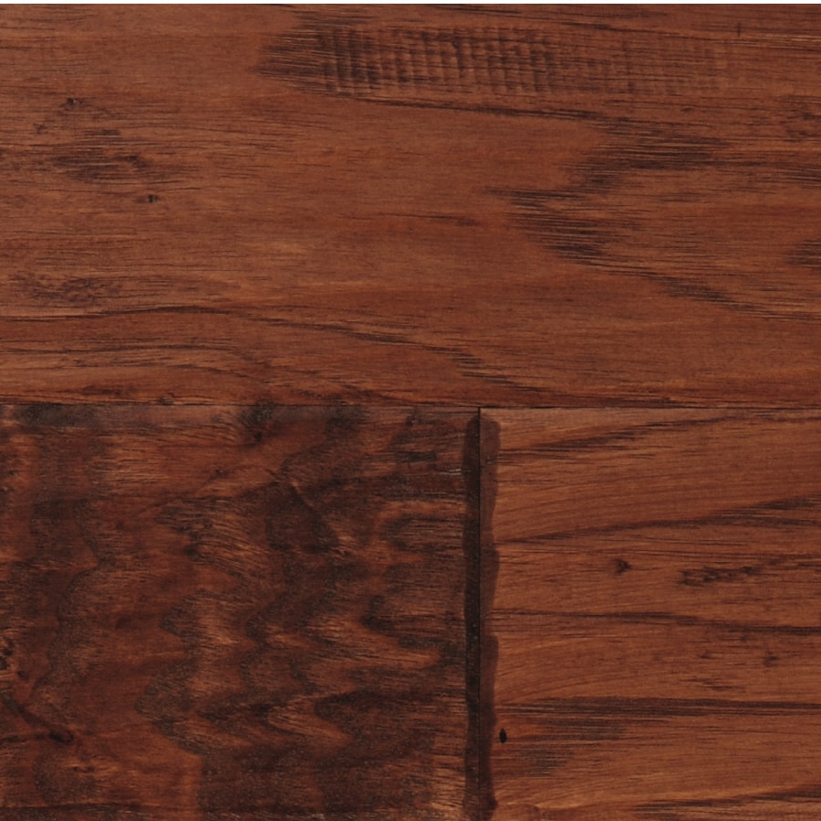 LM Flooring Cabin Creek 4.92-in W Prefinished Hickory Engineered Hardwood Flooring (Fireside)