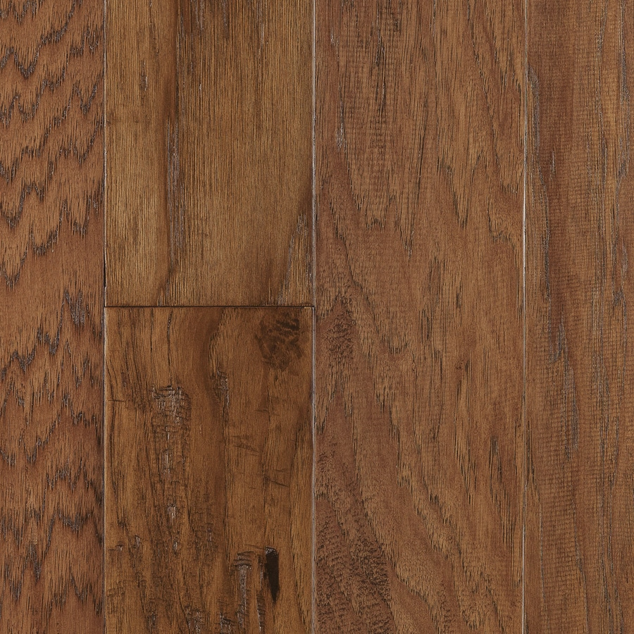 Shop style selections prefinished russet hickory hardwood for Hardwood floors at lowes