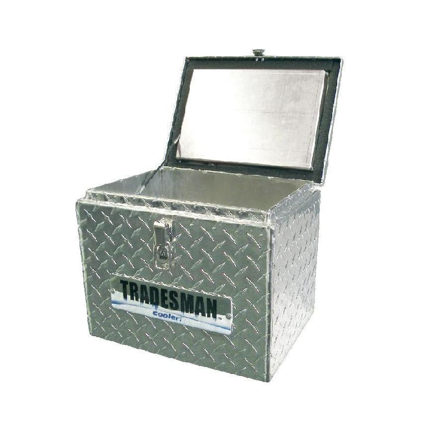 Small Truck Tool Box >> Tradesman 14 3 4 In X 13 In X 13 1 2 In Aluminum Compact Truck Tool