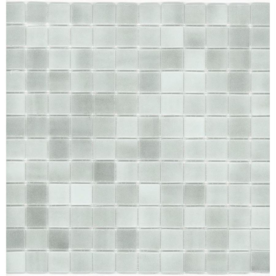 Shop Elida Ceramica 12 12 X 12 12 Recycled Mosaic Gray Ice Glass