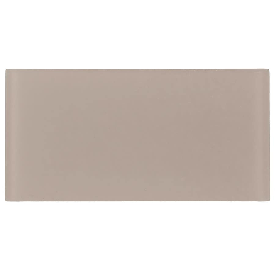 Elida Ceramica Sands Glass Wall Tile (Common: 4-in x 8-in; Actual: 3.9-in x 7.9-in)