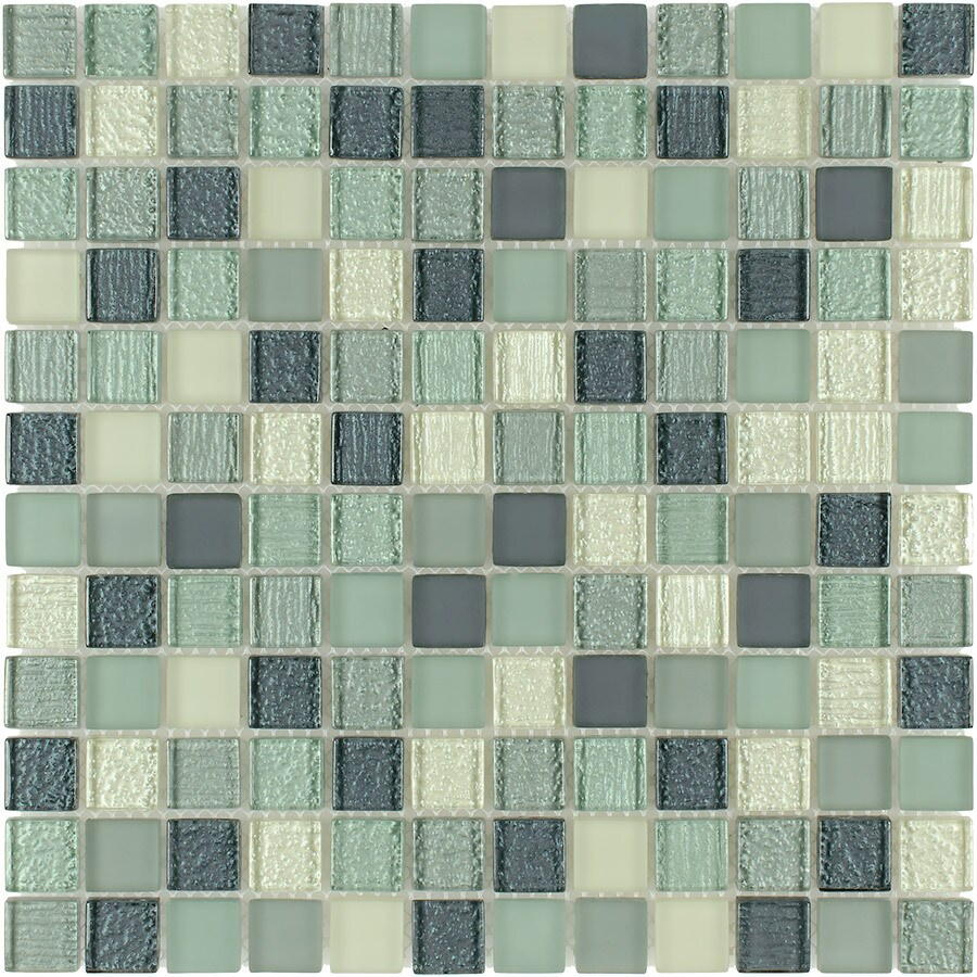 Elida Ceramica Summer Breeze Uniform Squares Mosaic Glass
