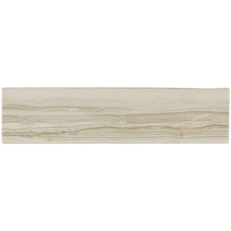 Elida Ceramica Natural Striatto Brick Ceramic Wall Tile (Common: 3-in x 12-in; Actual: 2.95-in x 11.81-in)