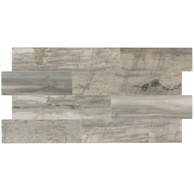 Elida Ceramica Ledgewood Stone 12-in x 24-in Porcelain Linear Wall Tile (Common: 12-in x 24-in; Actual: 24.876-in x 13.126-in)