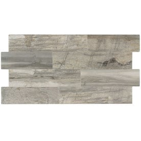 Elida Ceramica Ledgewood Stone Linear Porcelain Wall Tile Common 12 In X 24