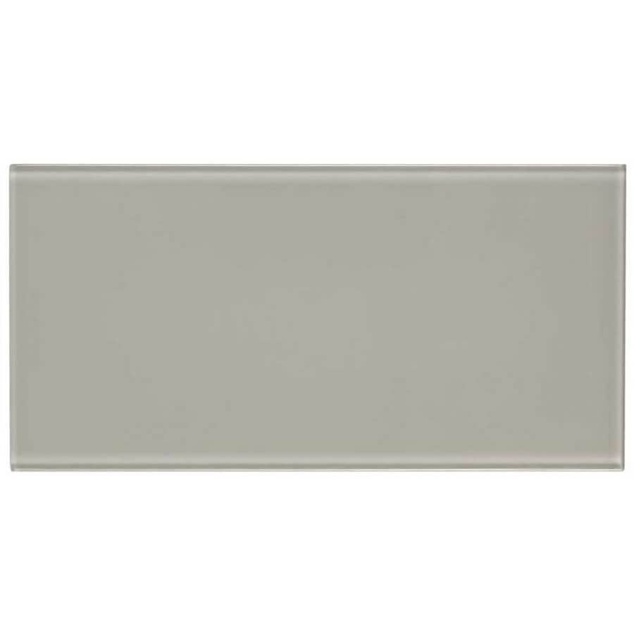 Elida Ceramica Highlight Subway Glass Wall Tile (Common: 4-in x 8-in; Actual: 3.8-in x 7.75-in)
