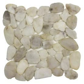 Elida Ceramica Pebble Paseo Mosaic Floor And Wall Tile Common 12 In X