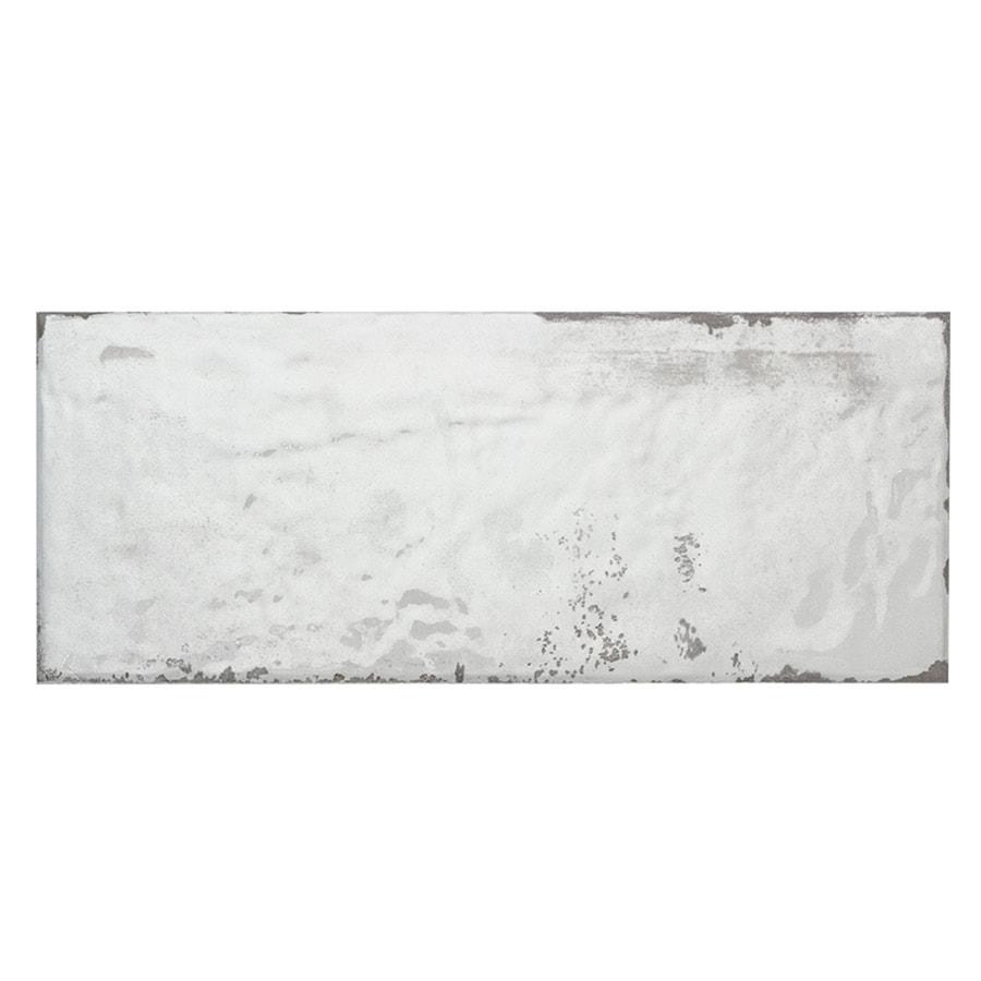 Shop Elida Ceramica WHITEWASH WALL PLANKS Ceramic Wall Tile (Common ...