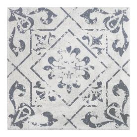 Prime Epoch Architectural Surfaces Geometric Star White 12 In X 12 Interior Design Ideas Gresisoteloinfo