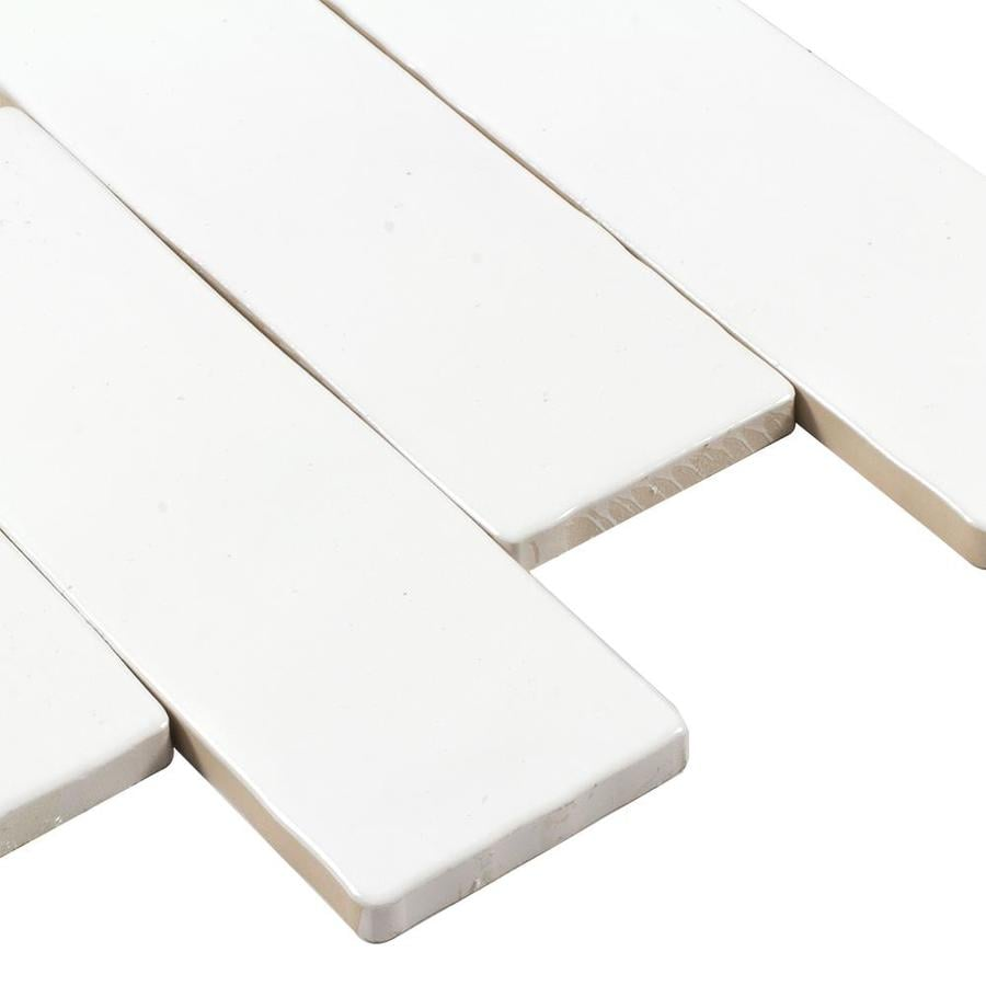 Perouso White Gloss Ceramic Wall Tile Pack Of 6 L 600mm: Best Ceramic In 2018