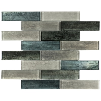 Emerald Isle Gl 12 In X Linear Wall Tile Common Actual 11 58 73