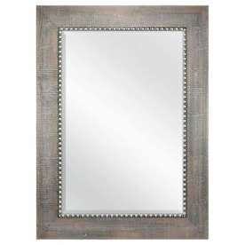 allen + roth Wood Wall Mirror 758338